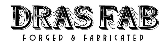 DRASFAB.COM | Blacksmithing | Hand Forged | Ornamental | Forged in Fire | Hand Made | Fabrication | Design | Welding | Sculpting | Aluminum | Steel | Iron | Copper | Metal